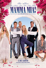 Cartel Mamma Mia! La Pelicula