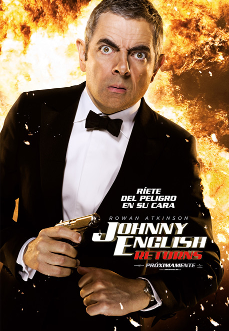 Cartel Johnny English Returns