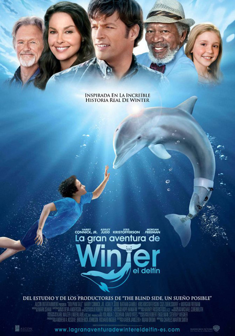 Cartel La Gran Aventura de Winter