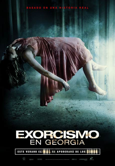 Cartel Exorcismo en Georgia