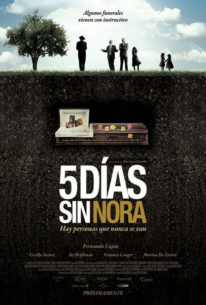 Cartel Cinco d�as sin Nora